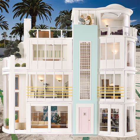 contemporary doll house malibu beach house 480 not your grandma s dollhouse 10 contemporary designs for
