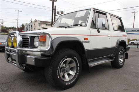 mitsubishi pajero montero 1989 turbo diesel manual