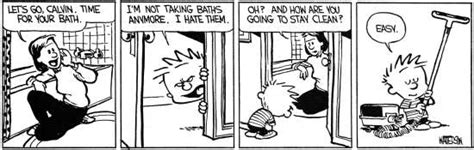 something the bed is drooling schwicky net calvin hobbes