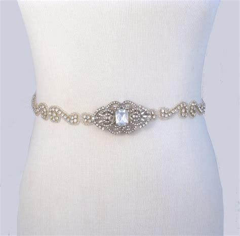 35 satin colors wedding dress belt jeweled beaded bridal