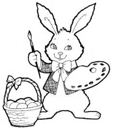 Easter Bunny Printables 7 sketch template