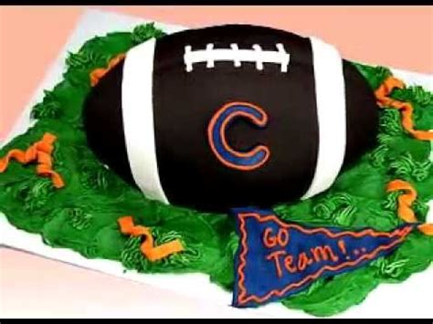 football cake how to decorate nfl superbowl football cake