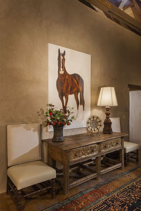 equestrian living room painting equestrian decor the rich tables and rustic