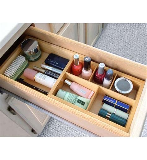 bathroom drawers organizers expandable cosmetic drawer organizer in cosmetic drawer