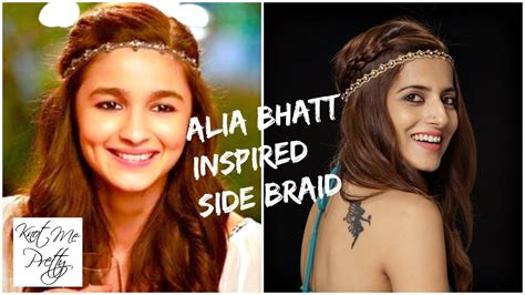 Hairstyle Bookmystyle by Kar Gayi Chull Kapoor Sons Alia Bhatt Inspired Easy