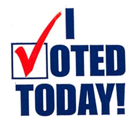 i voted today? | insightful nana