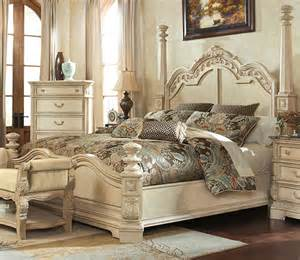 ortanique king poster bed by millennium
