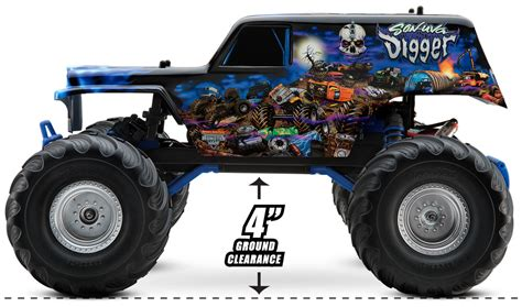 traxxas monster jam trucks image gallery son uva digger