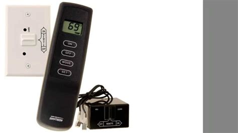 skytech sky 1001th a fireplace remote with
