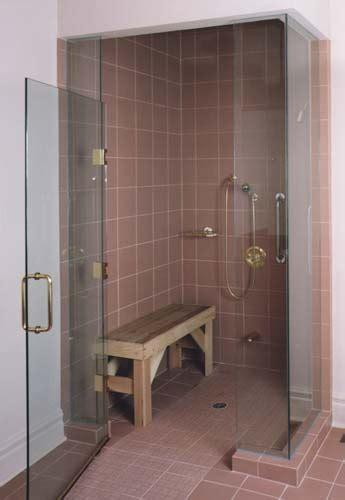 barrier free shower doors frameless style doors for wheelchair access artistcraft