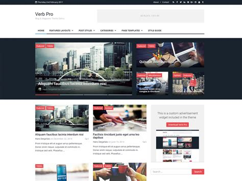 wordpress themes zonder blog professional website templates wordpress www pixshark