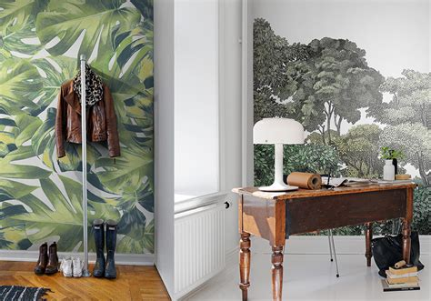 botanical interiors trend 2015 jungle wallpaper from wallpaper trends 2015
