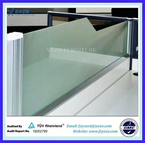 frosted glass office desk 8mm frosted glass office desk dividers q5 p21p6 yezo