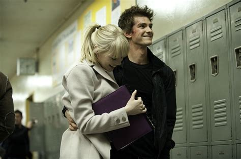 emma stone film romantique andrew garfield peter parker emma stone gwen stacy amazing