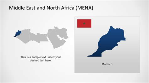 middle east map template middle east africa map template for powerpoint