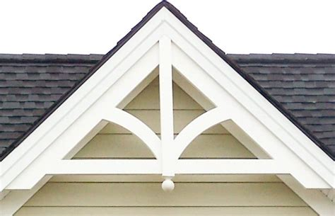 Gable Decoration decorative gable gp200 with finial gable end
