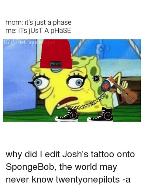 Its Just A Crush by Mocking Spongebob Pictures To Pin On