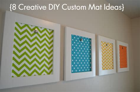 diy picture matting 8 creative diy custom mat ideas