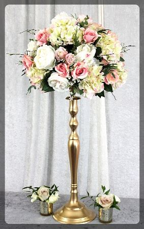flower stands for wedding rentals milton ontario canada
