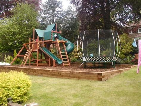 garden design ideas with children s play area