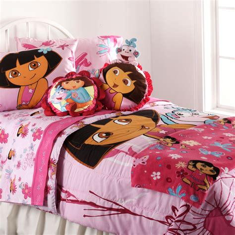 dora the explorer bedroom dora the explorer sheet set
