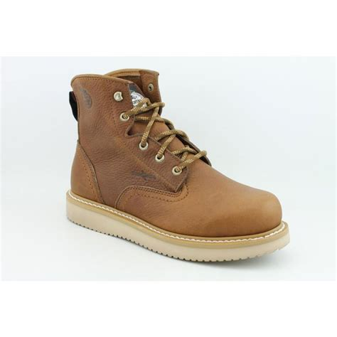 boot g6152 6 quot wedge grain leather brown
