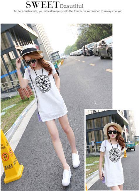 Dress Casual Wanita Laskar Dress Grey Navy dress casual wanita korean slim o neck size l white
