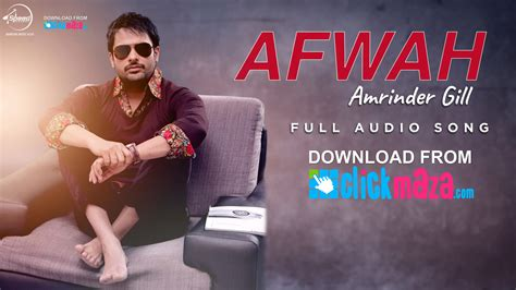 download mp3 free latest songs afwah amrinder gill latest punjabi song free