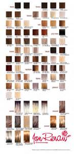 jon renau color chart