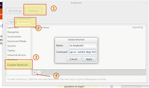 setxkbmap layout names shortcut keys keyboard switching multiple languages