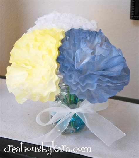 How To Make Paper Flowers From Coffee Filters - paper roses from coffee filters