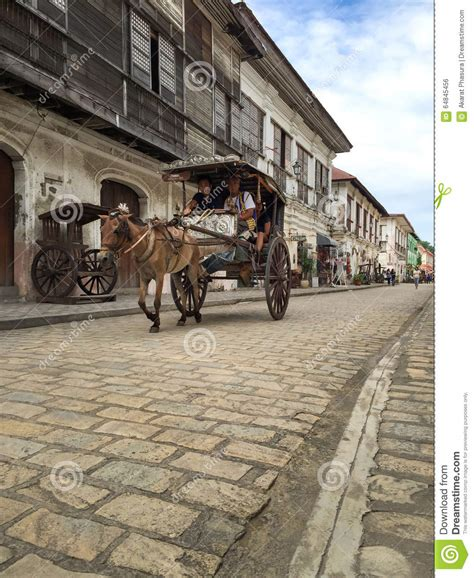 kalesa philippines a kalesa or carriage in historic town of vigan