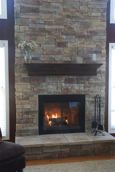 Fire Place Ideas | 25 interior stone fireplace designs