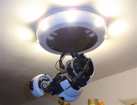 Light Portal by 3d Printed Glados Arm L Killing You And Lighting Your Home Aren T Mutually Exclusive Technabob