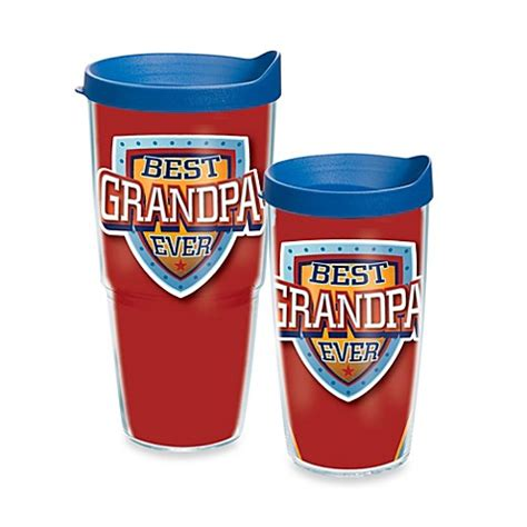 tervis bed bath and beyond buy tervis 174 best grandpa ever 24 oz wrap tumbler with lid