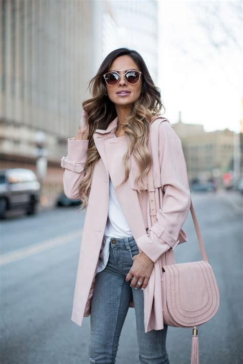 celebrity pink trench coat pink trench coat mia mia mine