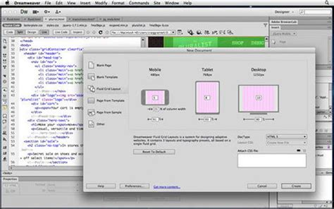 dreamweaver tutorial mobile website adobe dreamweaver cs6 review pc advisor