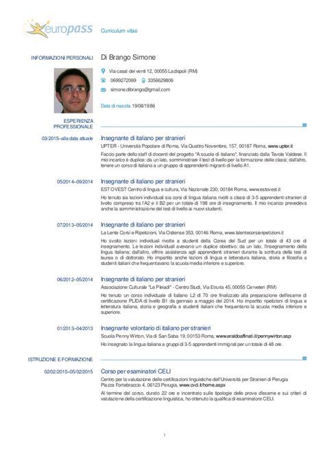 Modelo Curriculum Alba Il curriculum vitae europeo per insegnanti www gjscomputerservices au