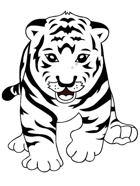 Tiger Cub Coloring Pages by Dope Boy Coloring Pages