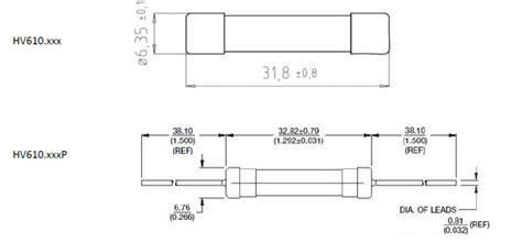 10 600v Ceramic Fuse - 600v dc ceramic fuse protection circuit 6mm x 30mm