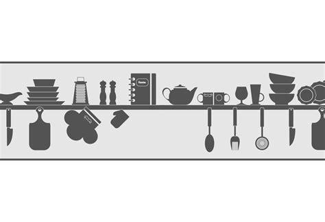 cenefas leroy merlin cenefa de papel para cocinas utensilios ref 19439910
