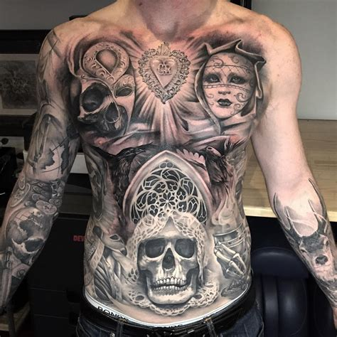 torso tattoo designs chicano best ideas gallery