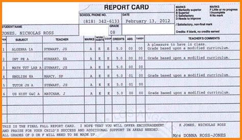 report card template doc report card template high e learning developer cover