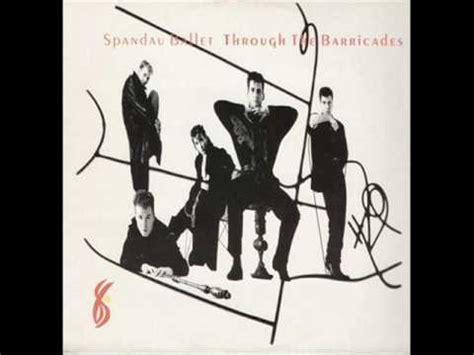 testi spandau ballet spandau ballet through the barricades 1986 lp album