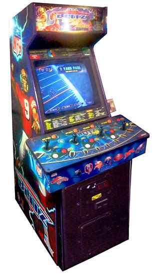 Nfl Blitz Arcade Cabinet by Nfl Blitz 2000 Arcade Racing Simulators Photo