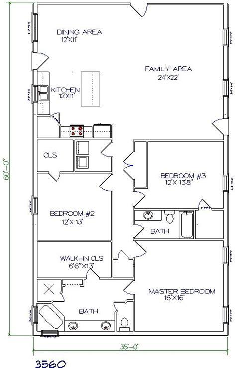 Hair Salon Floor Plan by Barndominium Floor Plans 40x60 Joy Studio Design Gallery
