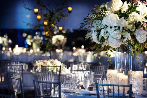 Blue And White Wedding Reception Decorations by Blue And Lavender Inspirations Weddingbee