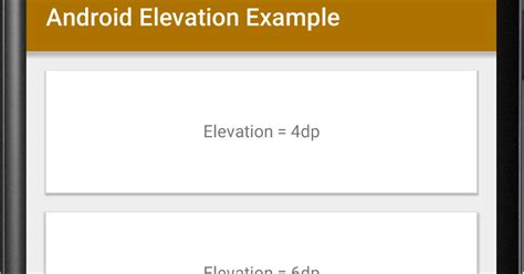 android elevation exle viral android tutorials exles ux ui design