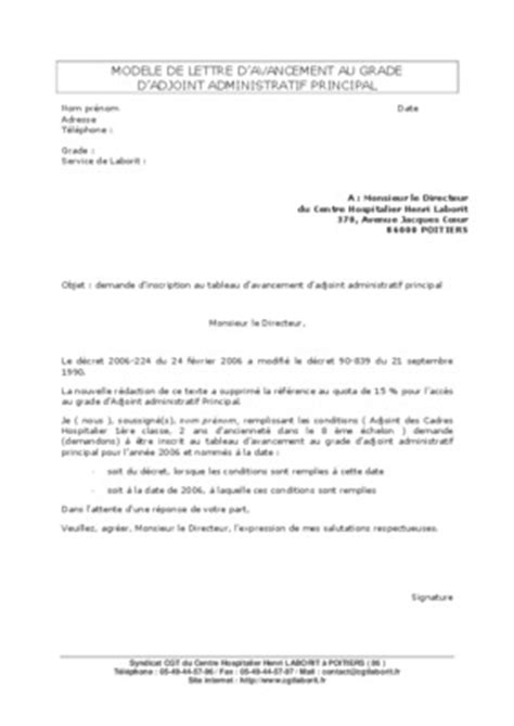 Exemple De Lettre Gagnant D Un Concours Modele De Lettre Demande Avancement De Grade A La Reussite D Un Concours Pdf Notice Manuel D