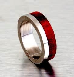 Men's Titanium Wedding Bands   Engagement Ring   Unique